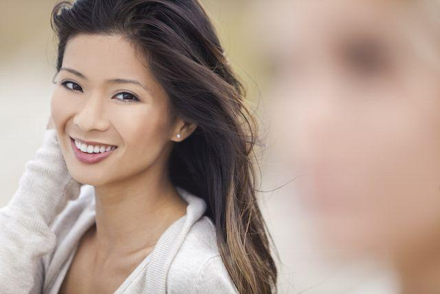 A Woman Smiles | Teeth Whitening Metairie LA