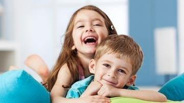 two children smiling | childrens dentist metairie la