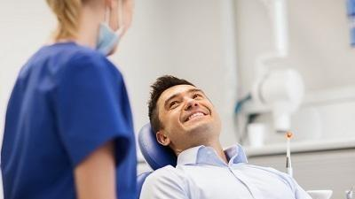 man before root canal treatment in metairie