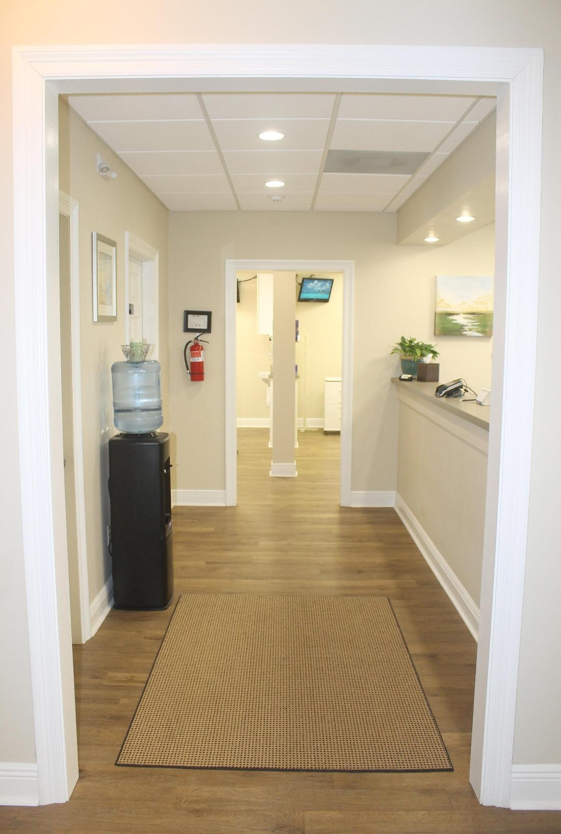 main hallway Oak Family Dental | dentist metairie la